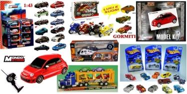 giocattoli veicoli