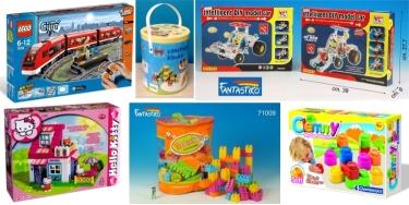 giocattoli costruzioni
